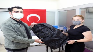 Talas Belediyesinin asker çantasına yoğun talep