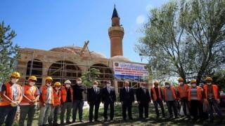 Tarihi Akkoyunlu mirası, Ferahşad Bey Camiinde çalışmalar yılsonu tamamlanacak