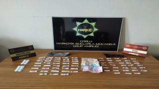 Tekirdağda uyuşturucu operasyonu: 2 gözaltı