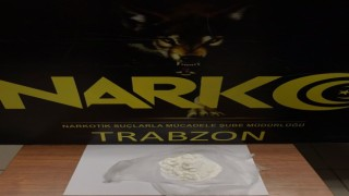 Trabzonda 100 kg Bonzai yapılabilecek sentetik uyuşturucu ele geçirildi
