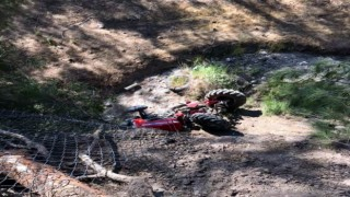 Traktör dereye uçtu: 1 yaralı