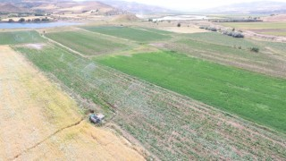 Tuncelide sulu tarım ekonomiye 51 milyon TL katkı sağlayacak