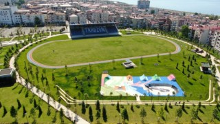 Türkiyenin ilk spor temalı millet bahçesi açılıyor