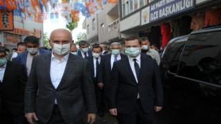 Ulaştırma Bakanı Karaismailoğlu, Malazgirti ziyaret etti