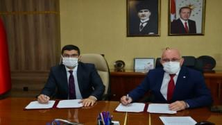 Uşak Üniversitesi ile Uşak Gençlik ve Spor İl Müdürlüğü arasında eğitim ve spor protokolü imzalandı