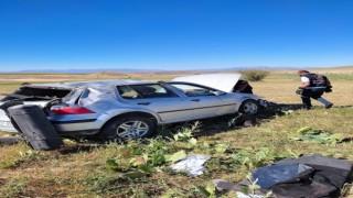Vanda trafik kazası: 1 yaralı