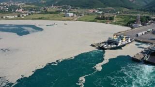 Yalovada 169 metreküp müsilaj denizlerden temizlendi