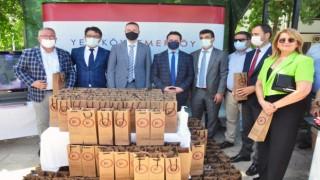 YK Enerji çocuklara Bin lavanta fidasi dağıttı