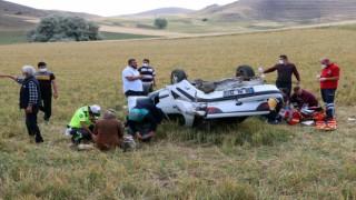 Yozgatta trafik kazası: 1 ölü, 1 yaralı