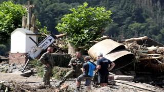 Almanyadaki sel felaketinde can kaybı 174e yükseldi