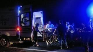 Bayram yolunda feci kaza: 9 yaralı