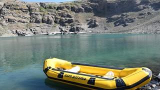 Şırnaktaki doğal göl, doğaseverlerin akınına uğradı