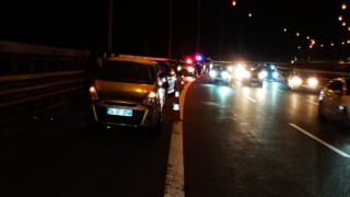 TEM Otoyolu Bolu Dağında zincirleme kaza: 5 yaralı