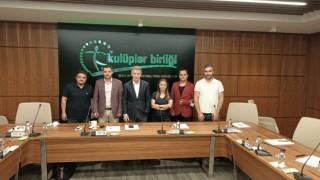 TSYD Trabzon Şubesinden Ahmet Ağaoğluna ziyaret