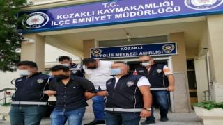 İstanbulda Aranan Şahıslar Kozaklıda Yakayı eleverdi