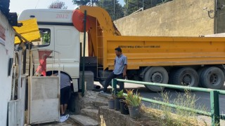 İstanbulda hafriyat kamyonu dehşeti