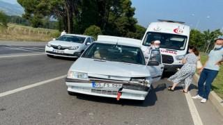 Samsunda trafik kazası: 1 yaralı