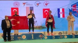 6. President Cup Europa Şampiyonasında 57 kiloda Gülse Polat 2. oldu