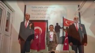 Afyonkarahisarda ilkokul öğrencilerinden Gaziler Gününe özel video