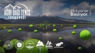 Ağrı Dağı temalı Ulusal Tenis Turnuvası başlıyor