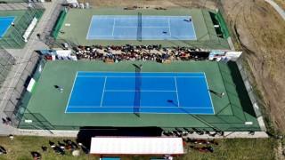 Ağrı Dağı Tenis Turnuvası sona erdi