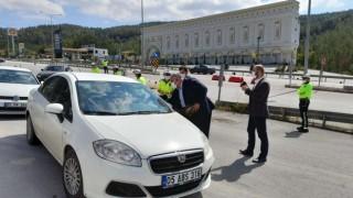Ahilik Haftasında sürücülere leblebi ikramı