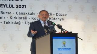 """AK Parti Genel Başkan Yardımcısı Özhaseki: """"Algı peşinde değiliz, biz eser bırakmaya çalışıyoruz"""