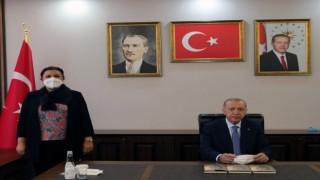 AK Parti İl Başkanı Ünsaldan teşekkür