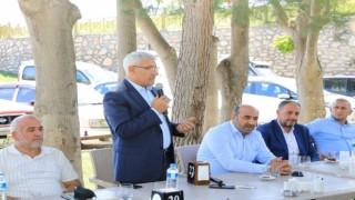 AK Parti mahalle başkanları, Battalgazideki yatırımları inceledi