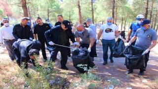 Amasya Belediyesi çalışanlarından Dünya Temizlik Gününde seferberlik
