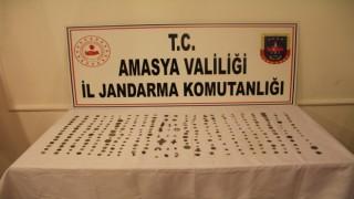 Amasyada kavanozdan tarih çıktı: 312 tarihi eser ele geçirildi