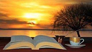 Anadolunun plajında muhteşem gün batımı