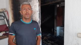 Anne ve 2 yaşındaki kızının 4. kattan atladığı yangınla ilgili site yönetimi müteahhidi suçladı