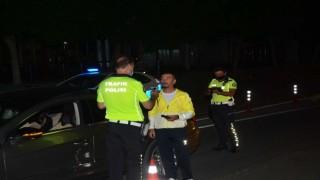 Antalyada sürücülere alkol denetimi