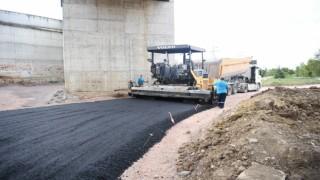 Ataevlerde asfalt çalışmaları tamamlandı