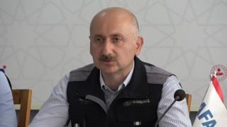"""Bakan Karaismailoğlu: """"Denizdeki tehlikeyi bertaraf ettik"""""""