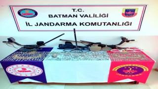 Batmanda tarihi eser kaçakçılığı operasyonu: Bin 468 adet obje ele geçirildi