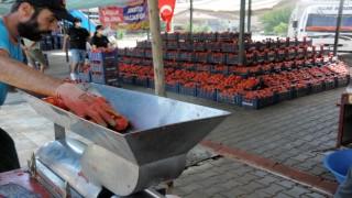 Belediye 'Domates Pazarı alanı oluşturdu