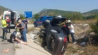 Bilecikte trafik kazası, 5 yaralı