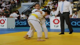 Çankırıda judo turnuvası başladı