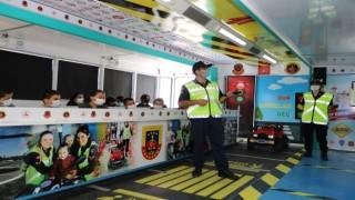 Çankırıda trafik güvenliği eğitimi verildi