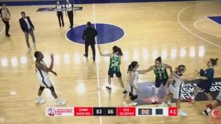 Çeşme Basketbol, Federasyon Kupasının ilk maçını kazandı