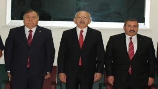 CHP Lideri Kılıçdaroğlu, Nevşehirde iş adamları ile buluştu