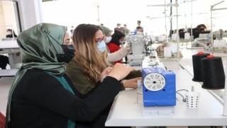 Diyadine kurulan tekstil fabrikası kızların umudu oldu