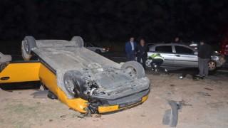 Elbistanda zincirleme kaza: 2si ağır 6 yaralı
