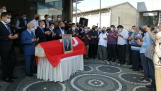 Eski Rize Belediye Başkanı Hızır Hop için belediyede tören düzenlendi
