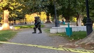Gaziantepte polisin dikkati sayesinde bombalı eylem engellendi