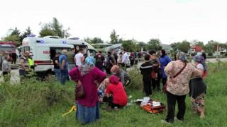 Giresunda trafik kazası: 5 yaralı
