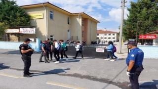 Güvenli Eğitim Uygulamasında 5 kişi yakalandı, 9 okul servisine ceza kesildi