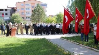 """Hizanda """"19 Eylül Gaziler Günü"""" dolayısıyla tören düzenlendi"""